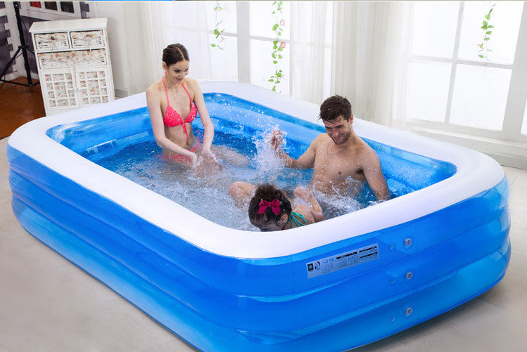 High Quality Thickening Giant Inflatable Swimming Pool For Adults Children Pools Accessories Family Summer Water Bathing Fun
