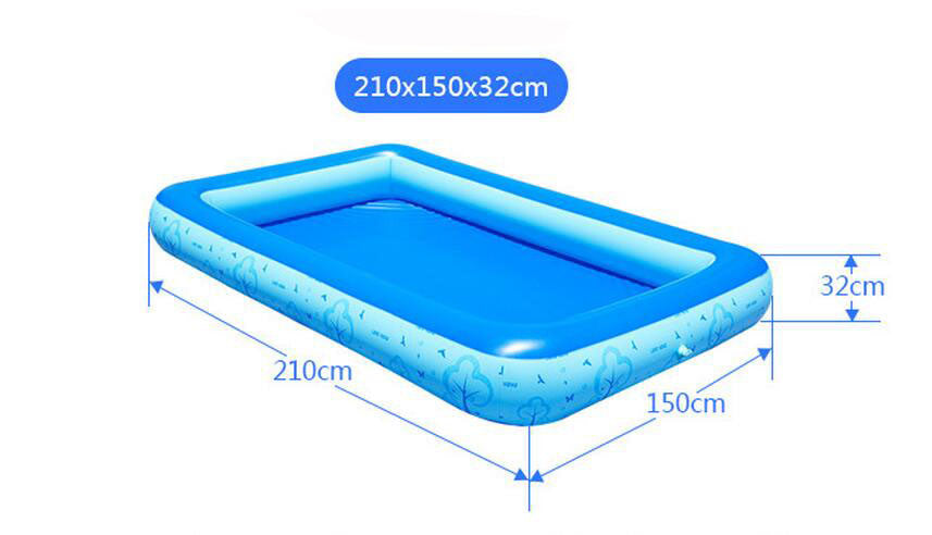 One Layer Inflatable Swimming Pool Extra Large Beach Pool For Adults And Children Summer Sand Fun