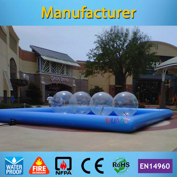 Commercial Grade 8*5m Inflatable Swimming Pool for Adult and Kids(Free air pump+free shipping)