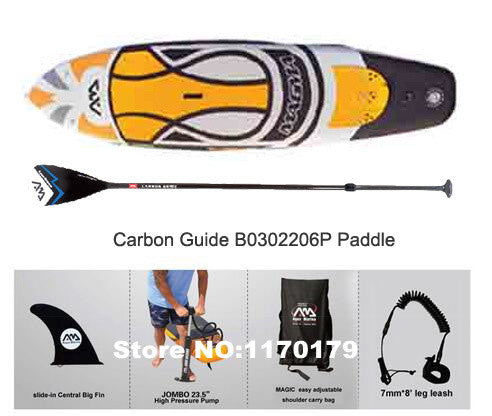 AQUA MARINA 11 feet 15CM thick Magma BT-17MA inflatable isup board stand up paddle board inflatable surf board surfboard