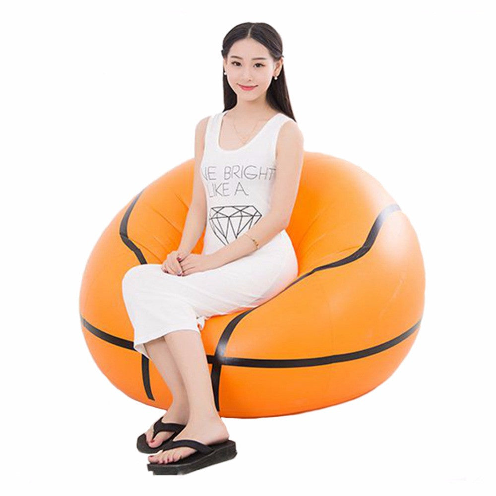Inflatable Seat, Large Modern Bean Bag Chair for Adults and Teens, Bearing 220lb for Indoor and Outdoor Use Inflatable Furniture