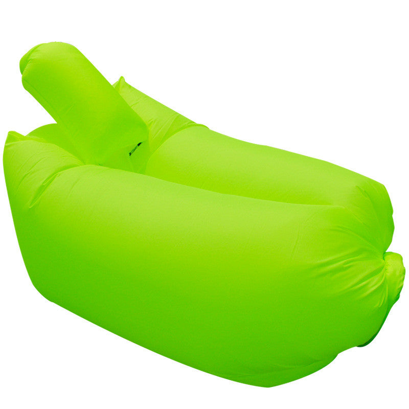 Fast Inflatable hangout Air Sleep Hiking Camping Bed Beach Sofa Lounge Sleeping bags lazy lay bag