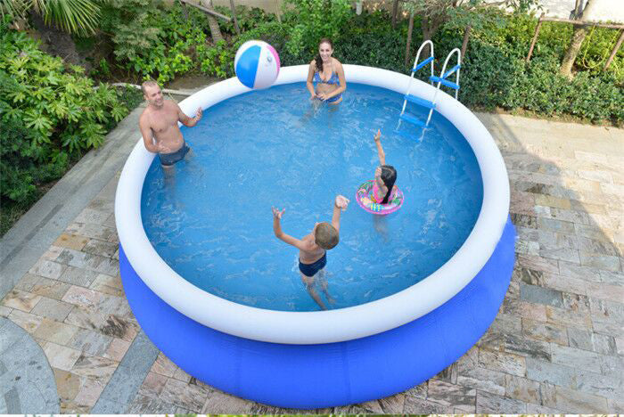 Inflatable Swimming Pool Water Park Cool Water Sports Inflatable Pool Summer Swim Pool 240x70CM