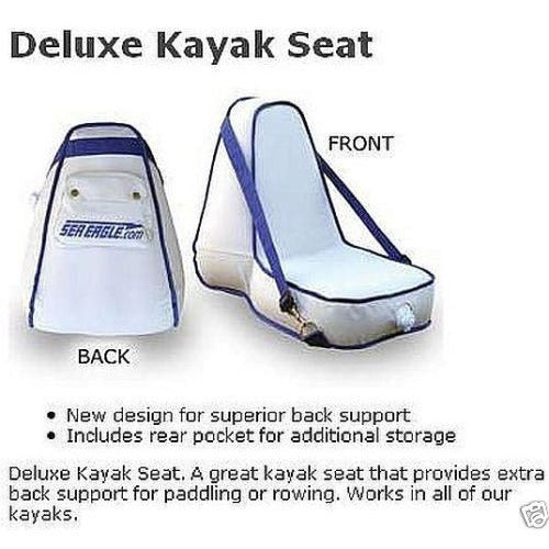 Sea Eagle Deluxe High-Back Inflatable Kayak Seat DKS Canoe Boat Accessories