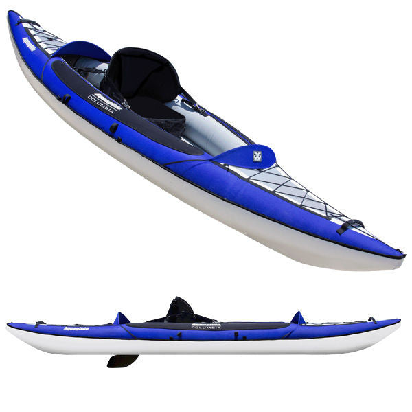 New! Aquaglide Columbia XP One 11 ft Inflatable Touring Kayak w/BackPack