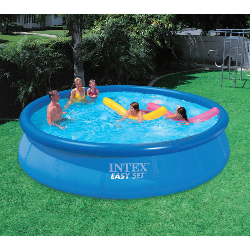 "Intex 15' x 36"" Easy Set Above Ground Inflatable Swimming Pool 