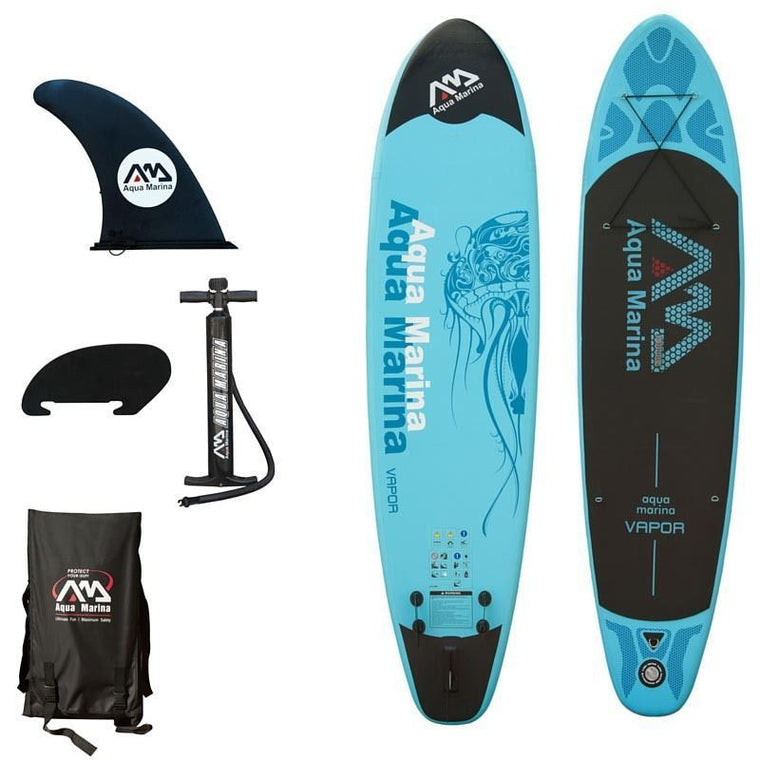 "Aqua Marina Vapor BT-88882P 10'10"" Inflatable Stand-up Paddle Board"