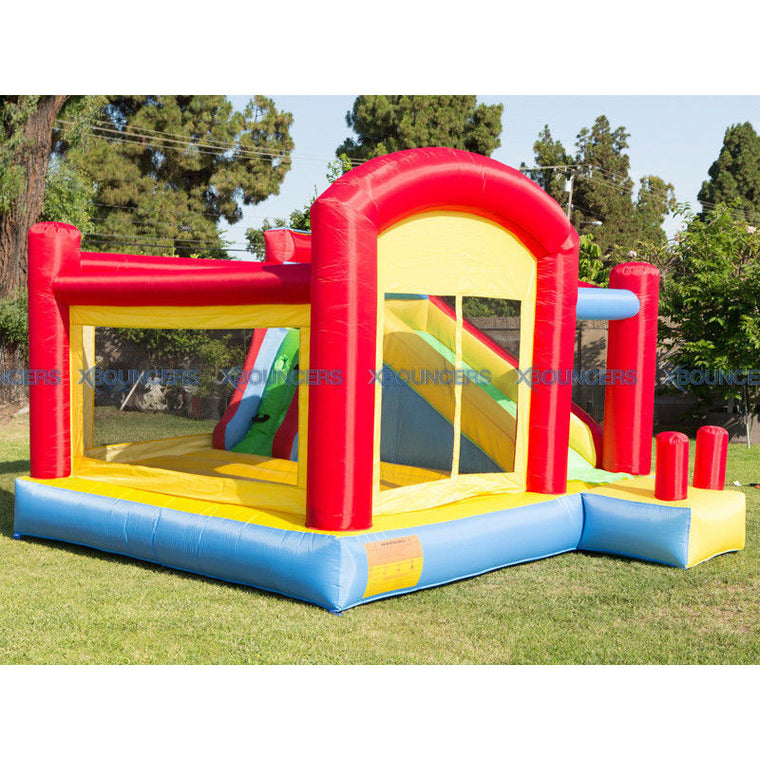 BRAND NEW  Super Slide Bounce House Inflatable Moonwalk Jumper Castle