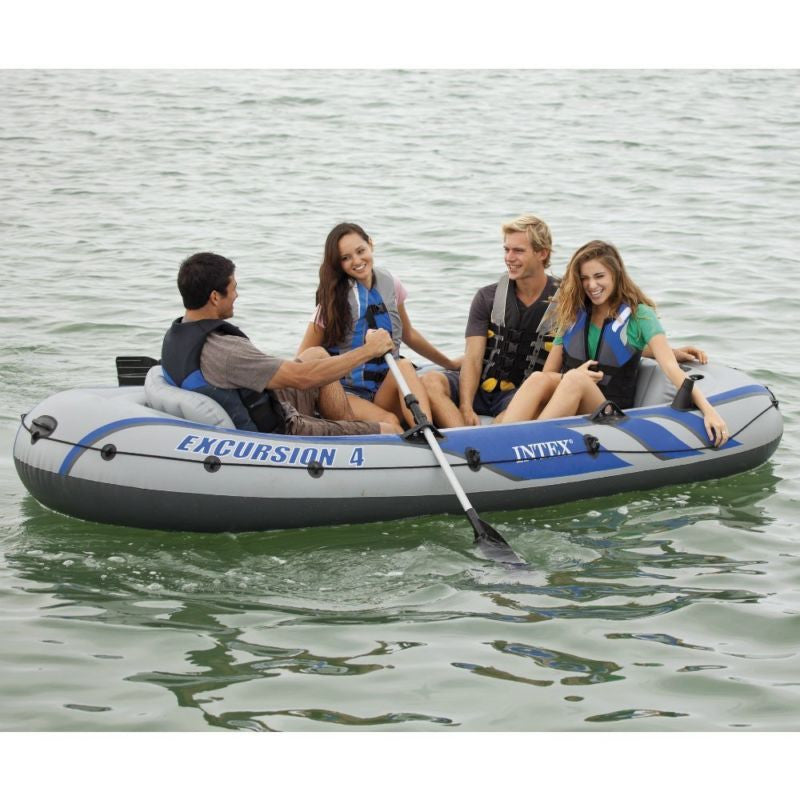 Inflatable Boat Canoe Water Sport Set Beach Relaxing Fishing Game Holiday Trip