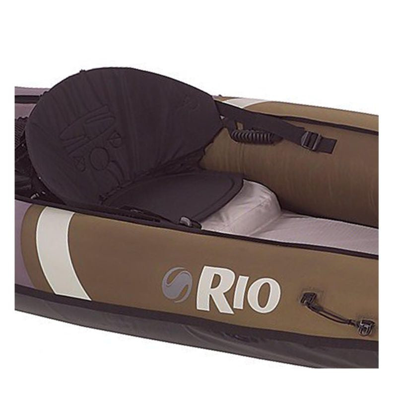 Coleman Sevylor Rio Hunting & Fishing Inflatable Kayak Canoe w/ 350 lb Capacity