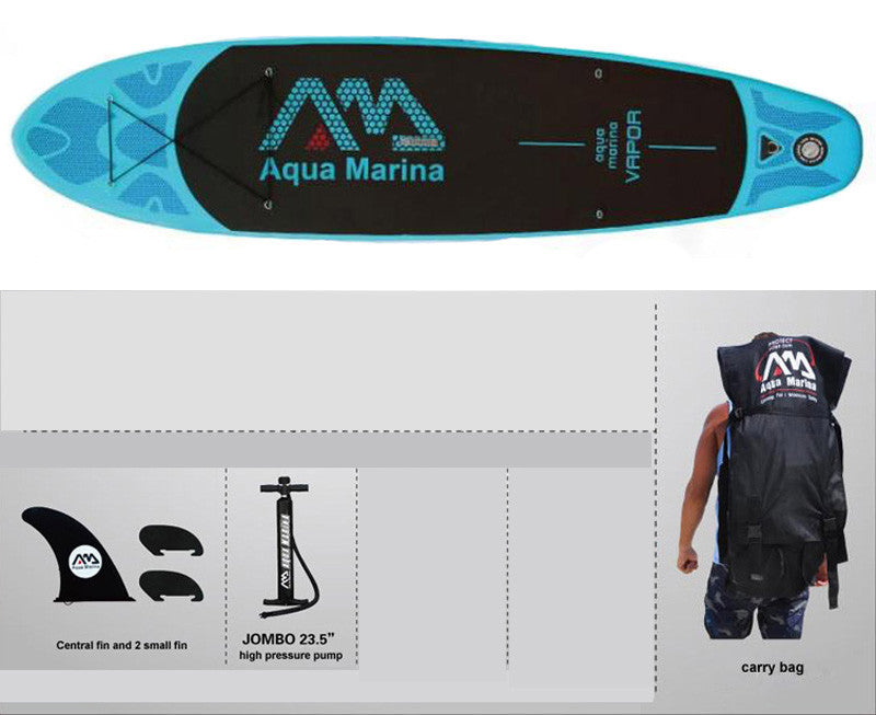 330*75*10cm AQUA MARINA 11 feet VAPOR inflatable sup board stand up paddle board inflatable surf board surfboard,inflatable boat