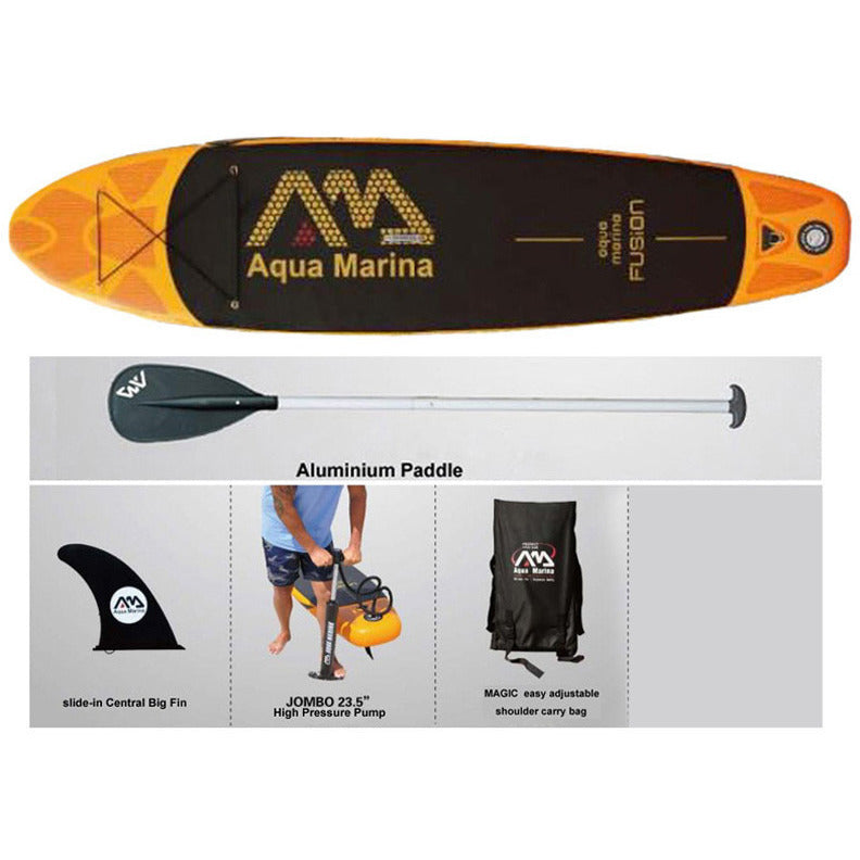 330*75*15cm AQUA MARINA WATER SPORT FUSION inflatable sup board stand up paddle board