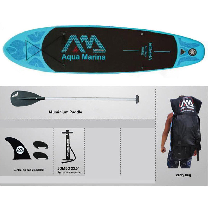 AQUA MARINA 11 feet VAPOR inflatable sup board stand up paddle board inflatable surf board