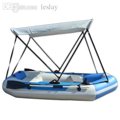 Wholesale-Inflatable Boat Tent Sun Shelter Aluminum Rubber PVC Fishing Boat Sunshade Canopy Awning Tent