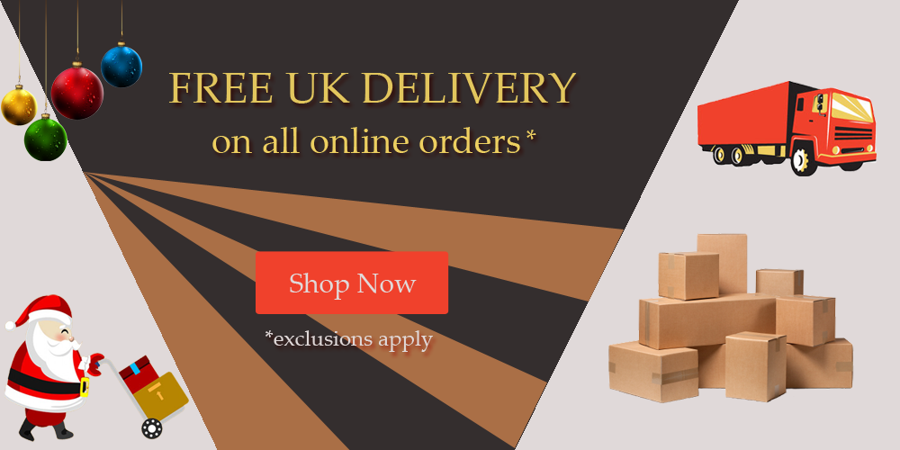 Free delivery on all online orders