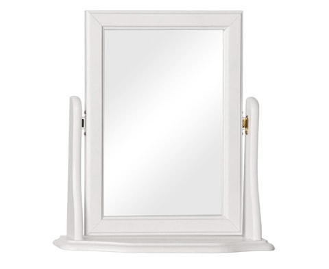 Copenhagen Dressing Table Mirror in White