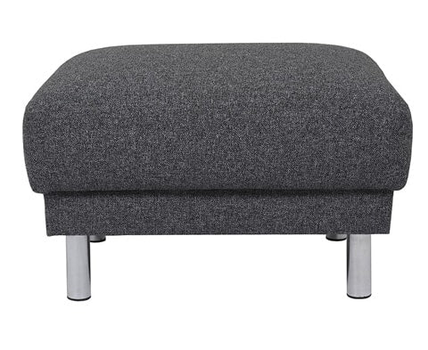Contemporary Cleveland Upholstered Footstool - 2 Colours