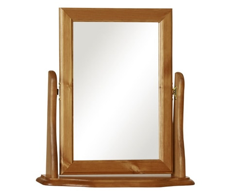 Copenhagen Dressing Table Mirror in Pine
