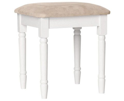Copenhagen Wooden Dressing Table Stool - 2 Colours