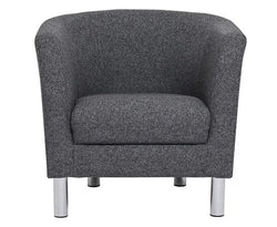 Contemporary Cleveland Upholstered Armchair - 2 Colours