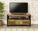 Urban Chic Reclaimed Wood Television Cabinet