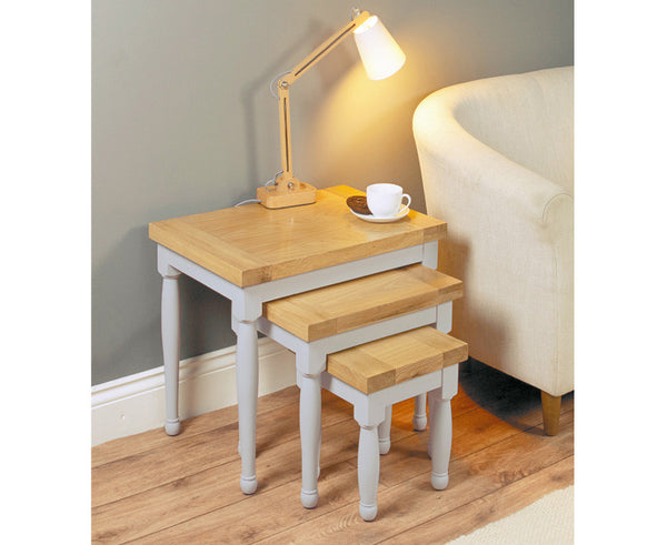 Chadwick Solid Wood Nest of Tables