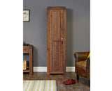 Shiro Solid Walnut Tall Shoe Cupboard