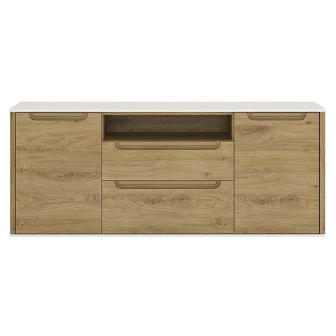 Dorset 2 Door 2 Drawer Wide TV Cabinet
