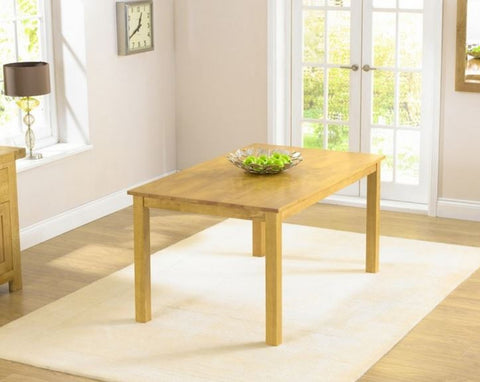 Long Island 150cm Rectangular Solid Hardwood Dining Table