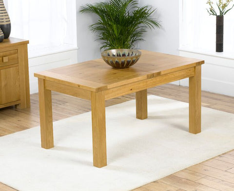 Rustique 120cm Solid Oak Dining Table