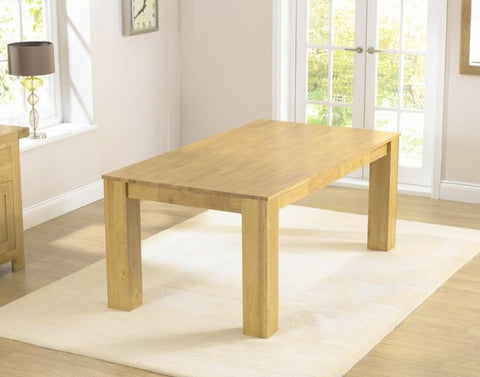 Tula 180cm Rectangular Solid Hardwood Dining Table
