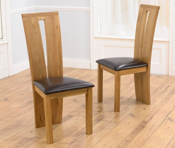Arizona Black Chairs (Pair)