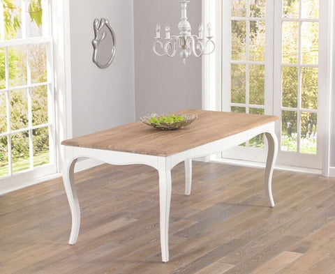 Sienna Grey 175cm Dining Table - Ivory or Grey