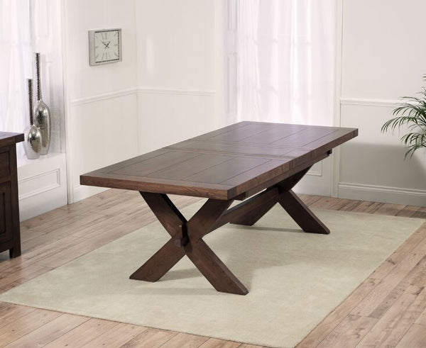 Avignon Dark 200cm Dining Table