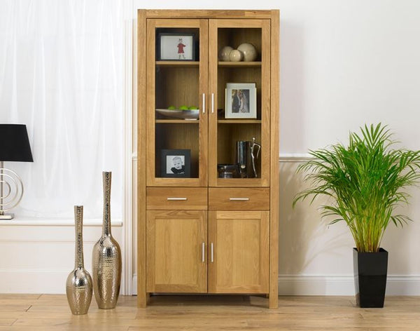 Verona Solid Wood Display Unit