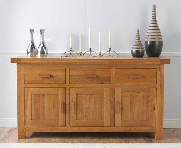 Avignon Large Solid Oak Sideboard