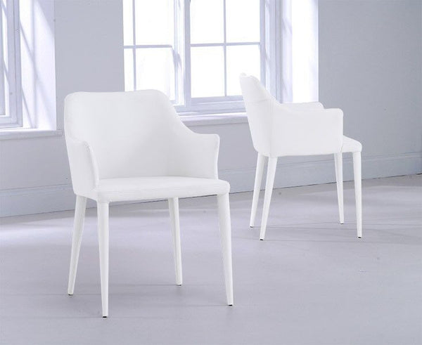 Cape Verdi Dining Chair with PU Leather (SINGLE CHAIR)