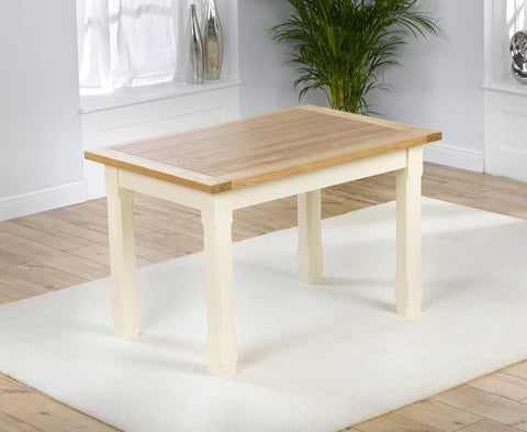 Windsor 130cm Solid Pine & Ash Dining Table