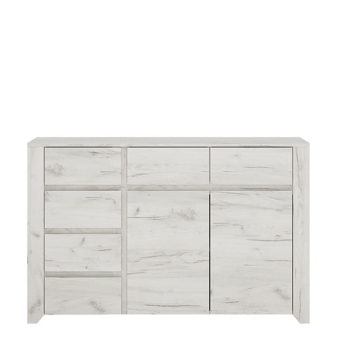 Angel 2 Door 3+3 Drawer Wide Chest