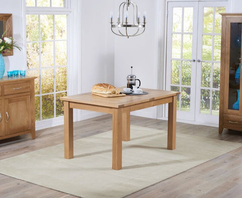 Cambridge 120cm Oak Extending Dining