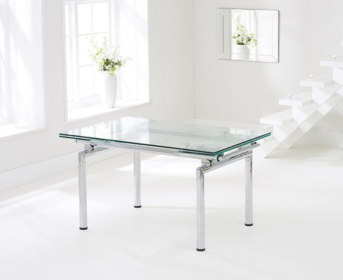 California 140cm Extending Dining Table
