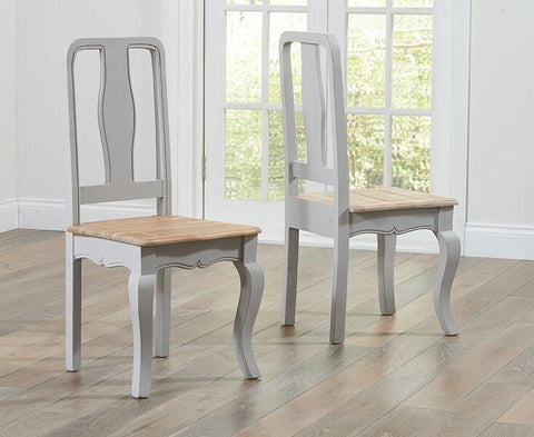 Sienna Grey Dining Chair (Pair)