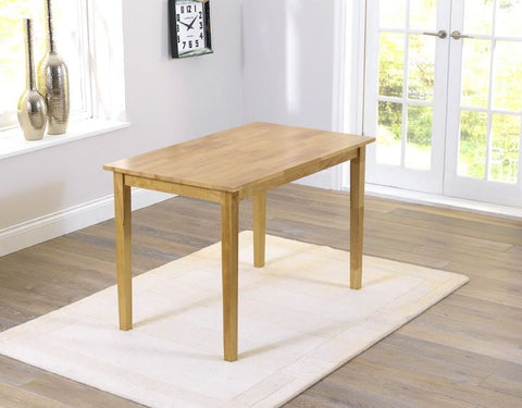 Chichester Solid Hardwood 115cm Dining Table