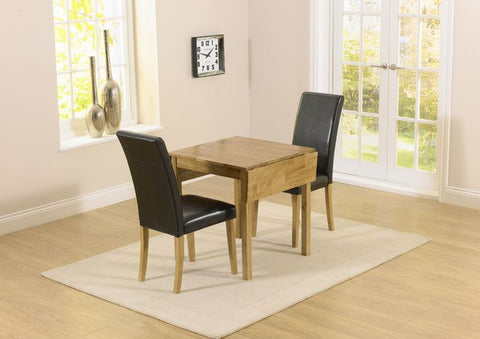 Promo Rectangular Extending Dining Set with 2 Chairs