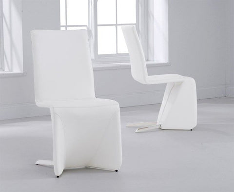 Isla Dining Chairs with PU Leather (Pair)