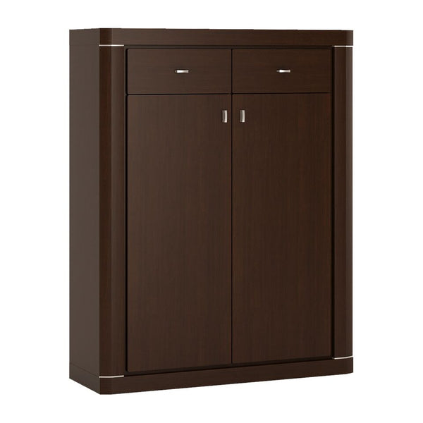 Camden 2 Door 2 Drawer Cabinet in Dark Wenge