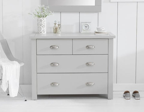 Sandringham Grey 2 + 2 Drawer Chest