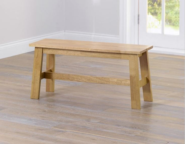 Chichester Solid Hardwood Small Bench