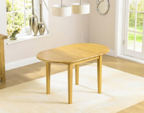 Alaska Solid Hardwood Dining Table