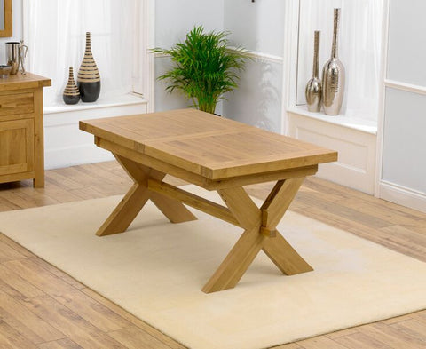 Avignon 160cm Solid Oak Dining Table